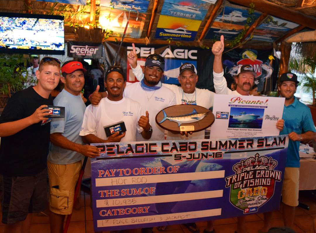 2016 Cabo Summer Slam_HOT ROD_Billfish Release Champions