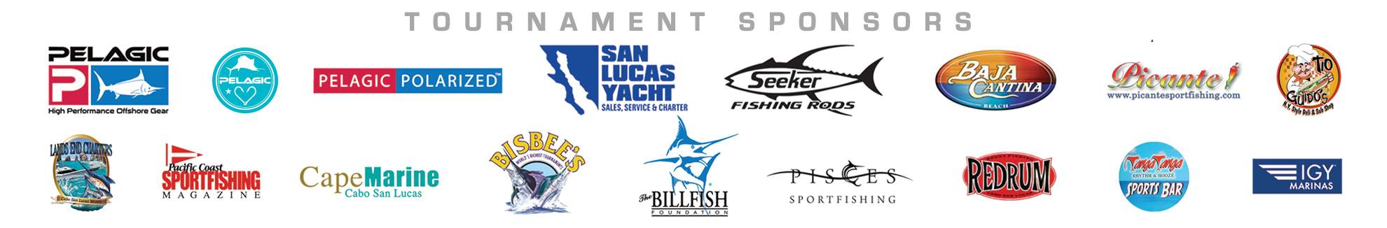 Pelagic Triple Crown Sponsors