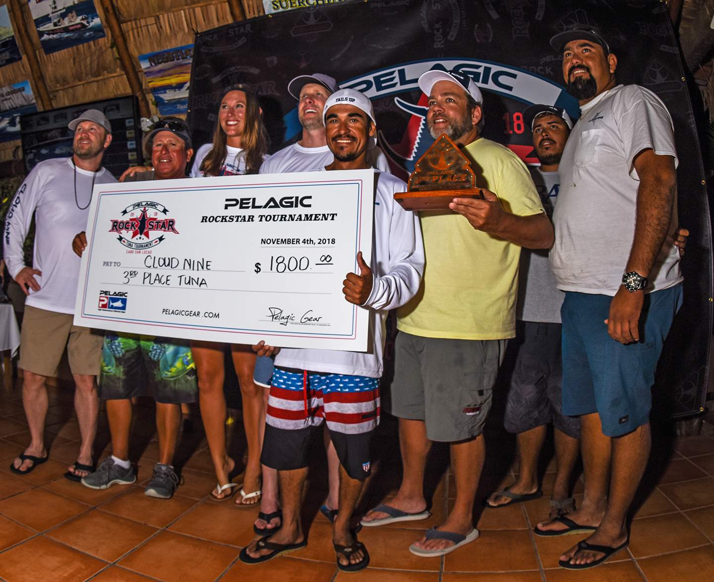 Cloud Nine Check Photo Pelagic Rockstar Tuna Tourney
