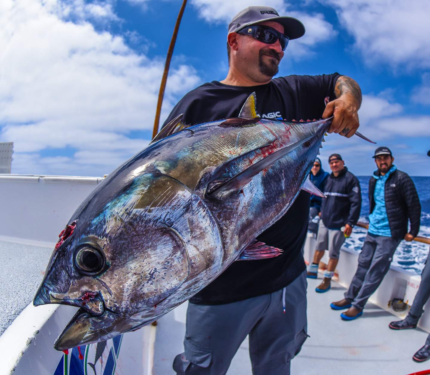 Pelagic Excel Catchin A Buzz Fishing Trip Bill Tuna