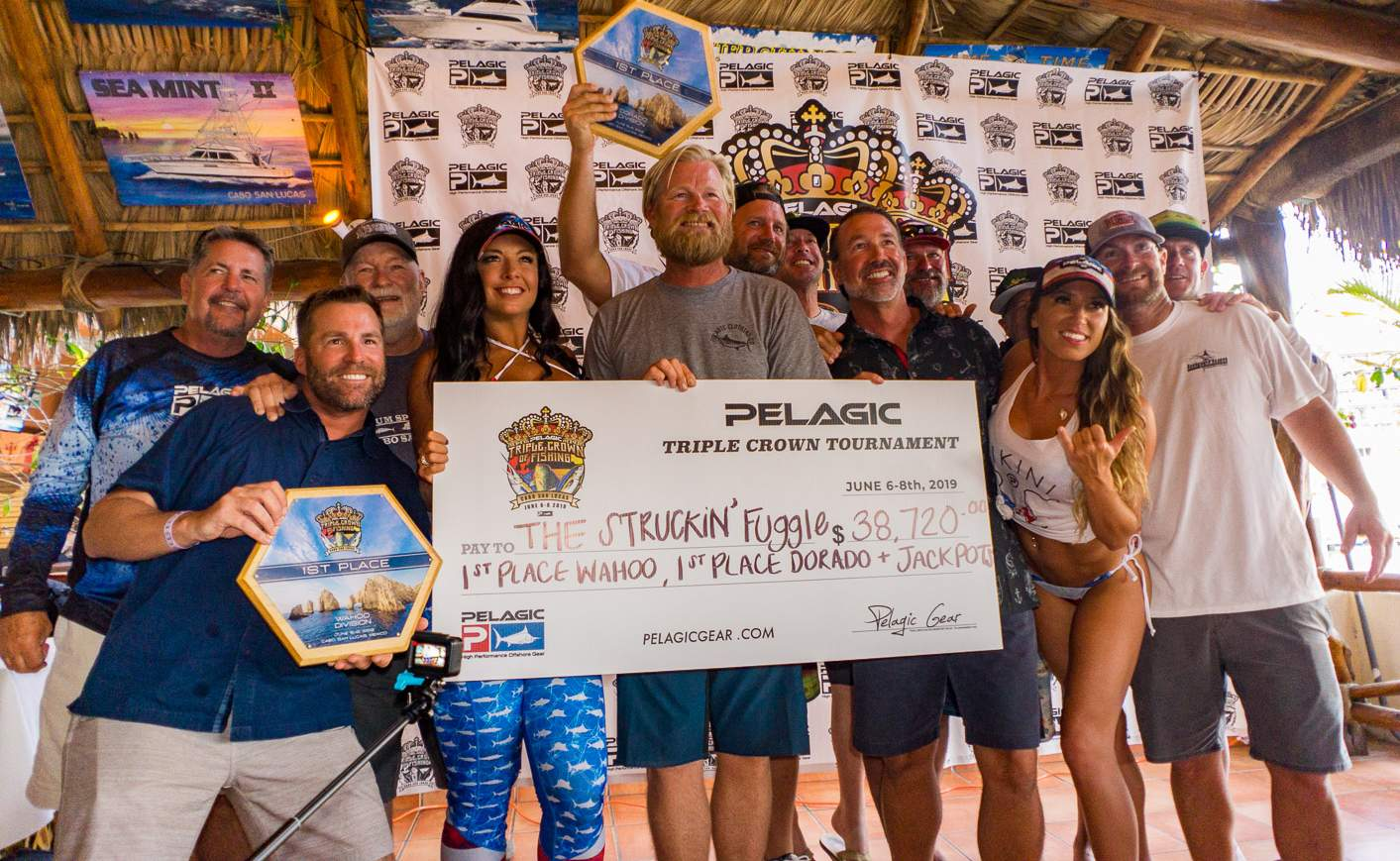 2019 Pelagic Triple Crown Cabo Struckin Fuggle Check