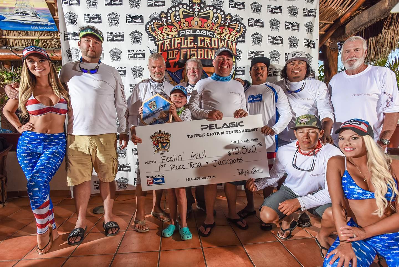 2019 Pelagic Triple Crown Cabo Feelin Azul Check