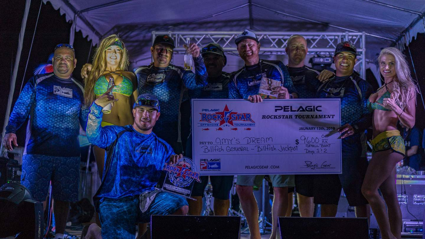 2019 Pelagic Rockstar Offshore Tournament Amy Dream Check