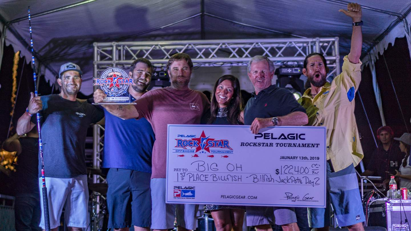 2019 Rockstar Offshore Tournament Big Oh Check