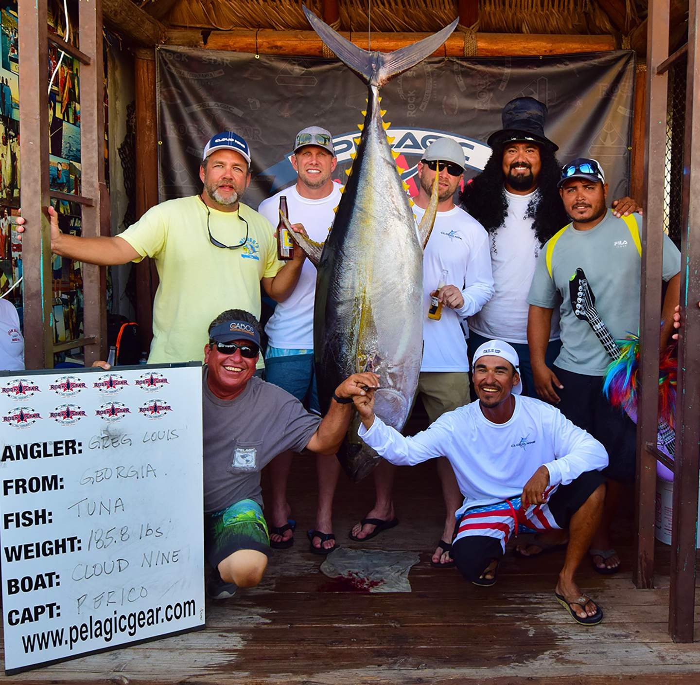 Cloud Nine Pelagic Rockstar Tuna Tourney