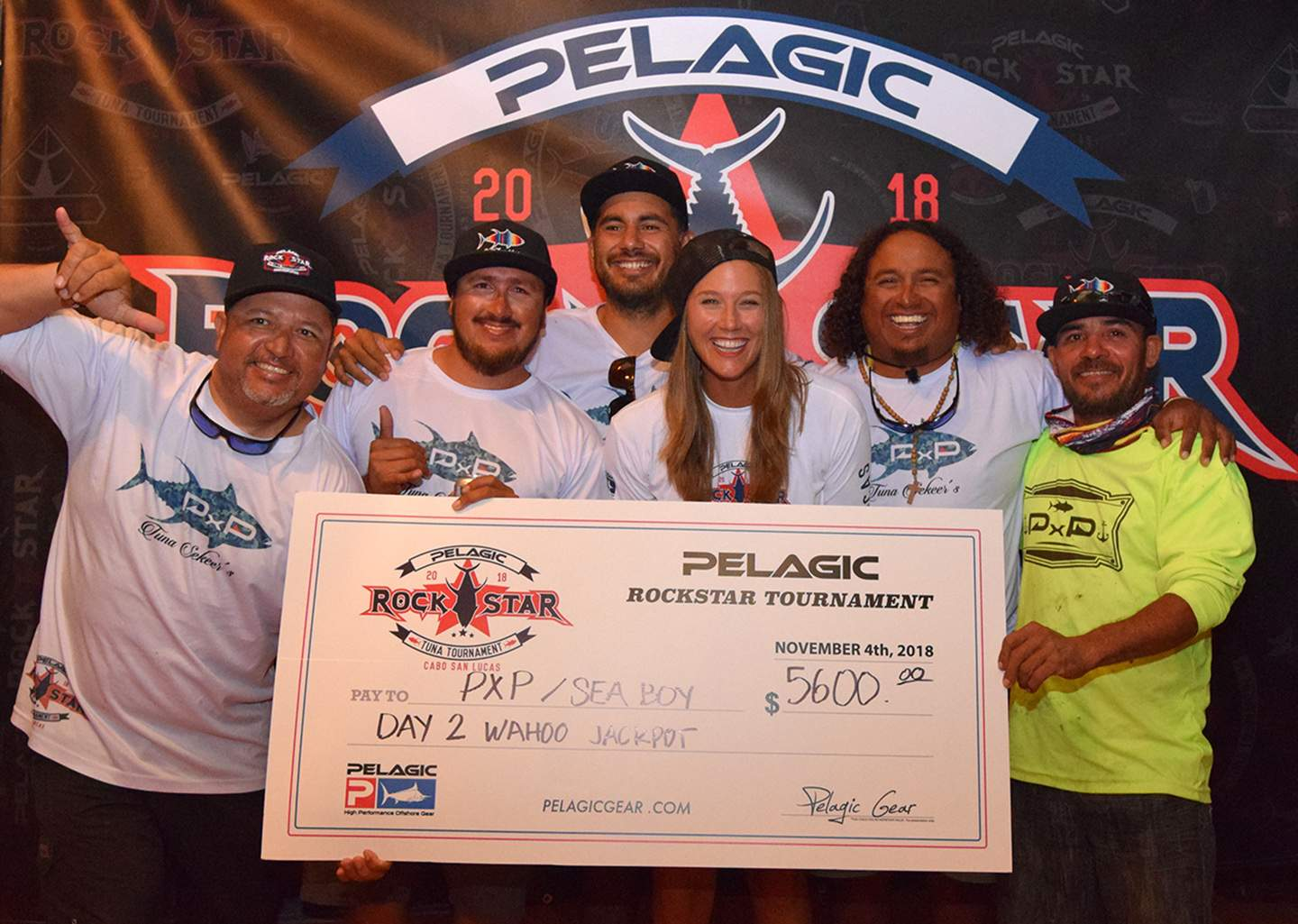 Sea Boy PxP Check Pelagic Rockstar Tuna Tourney