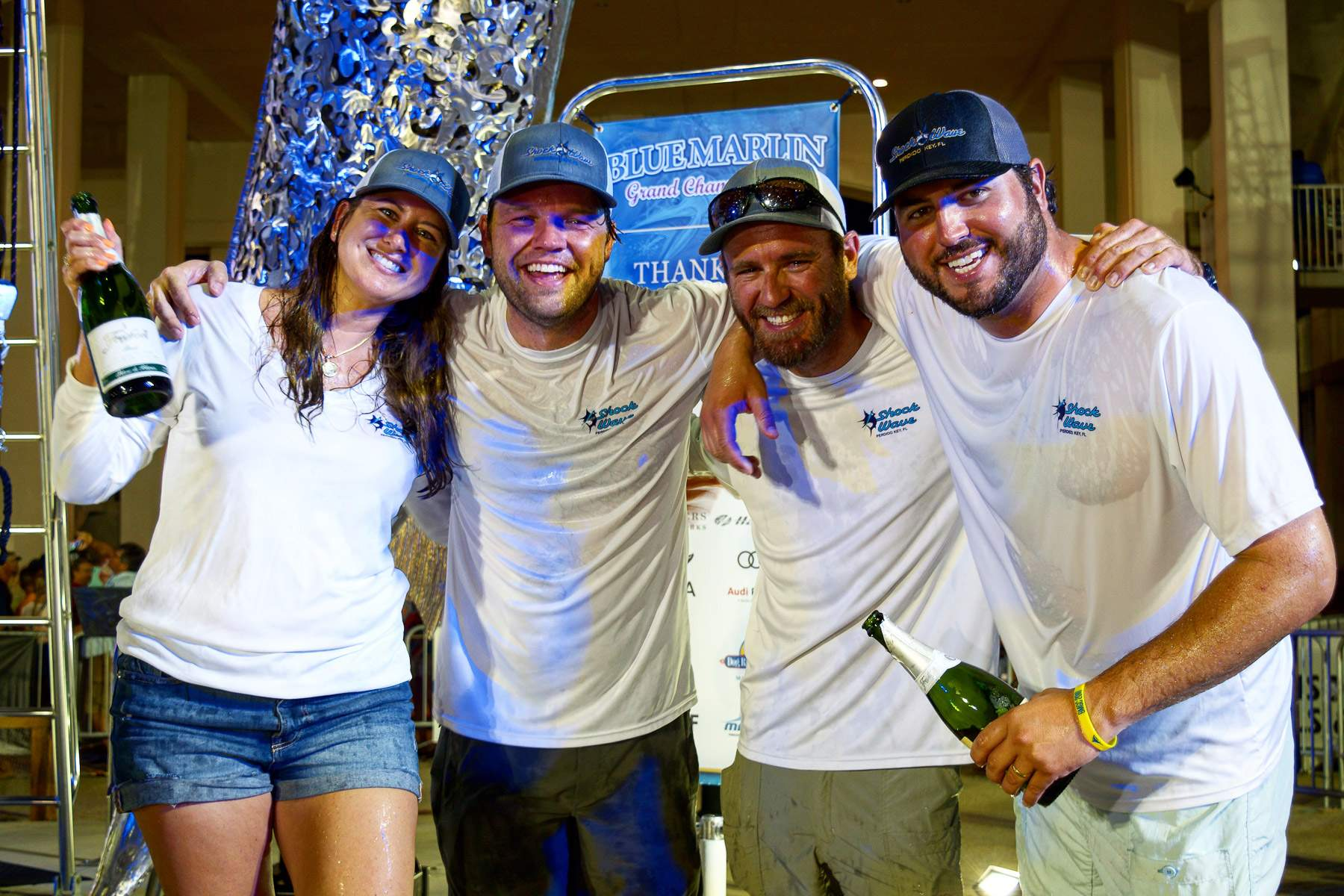 Team Shockwavee 2018 Blue Marlin Grand Champions