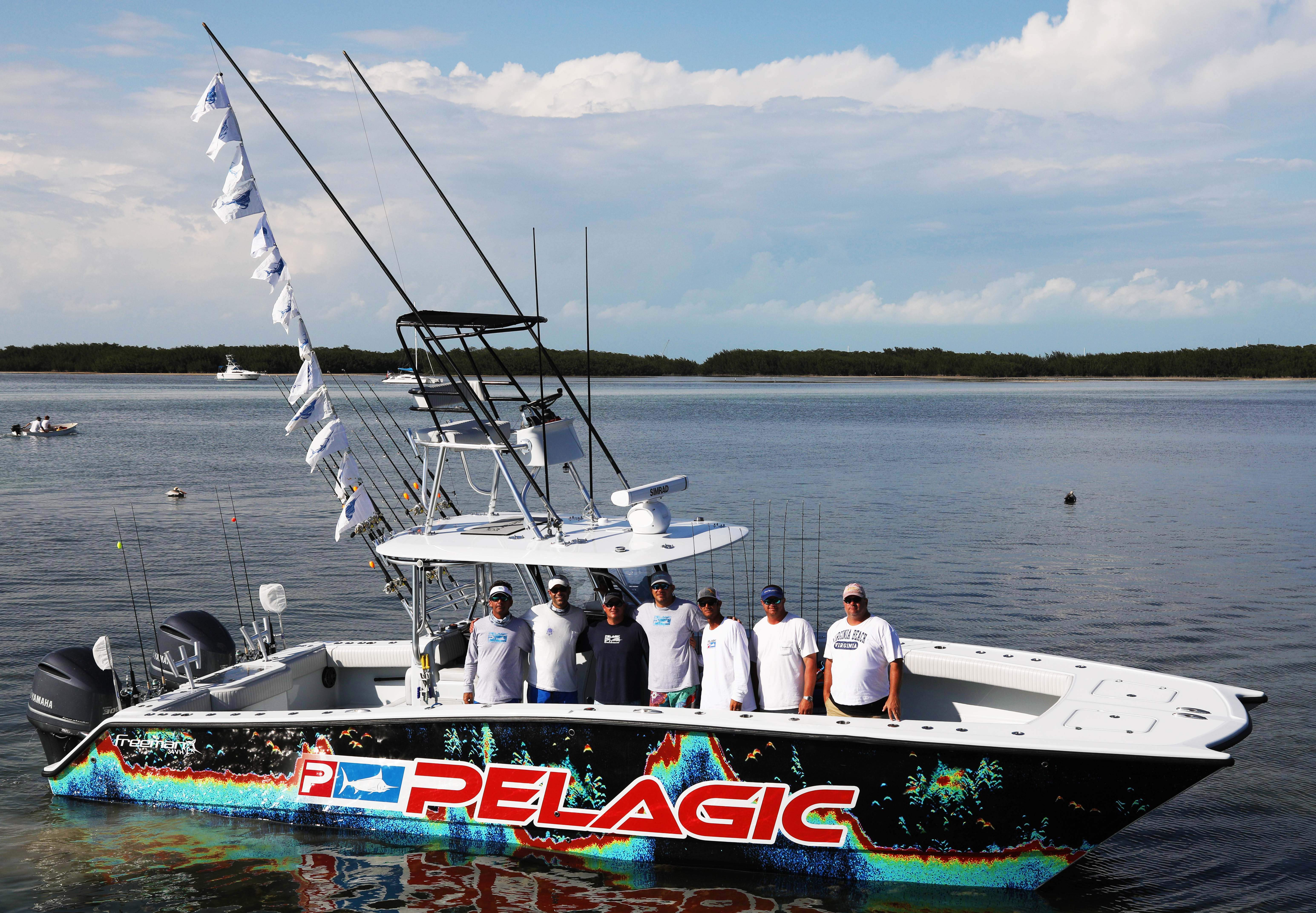 Team Catchalottafish 4th place Jimmy Johnson Billfish Tournament
