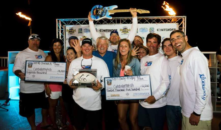 Team Catchalottafish 4th Jimmy Johnson Tourney