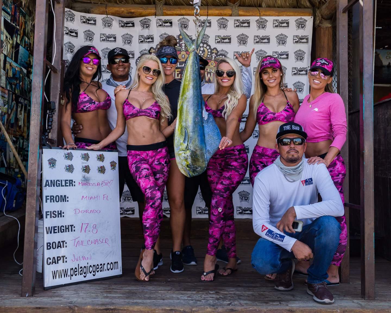 2019 Pelagic Triple Crown Cabo Girls Tailchaser Dorado