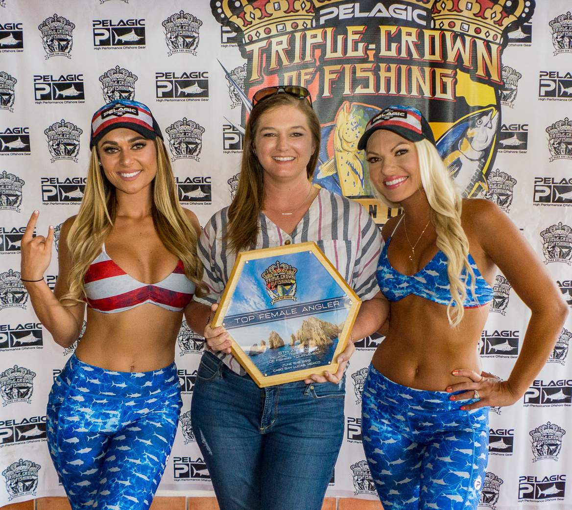 2019 Pelagic Triple Crown Cabo Top Female Angler