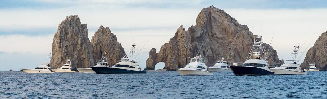 2019 Pelagic Triple Crown Cabo Fleet at the Arch