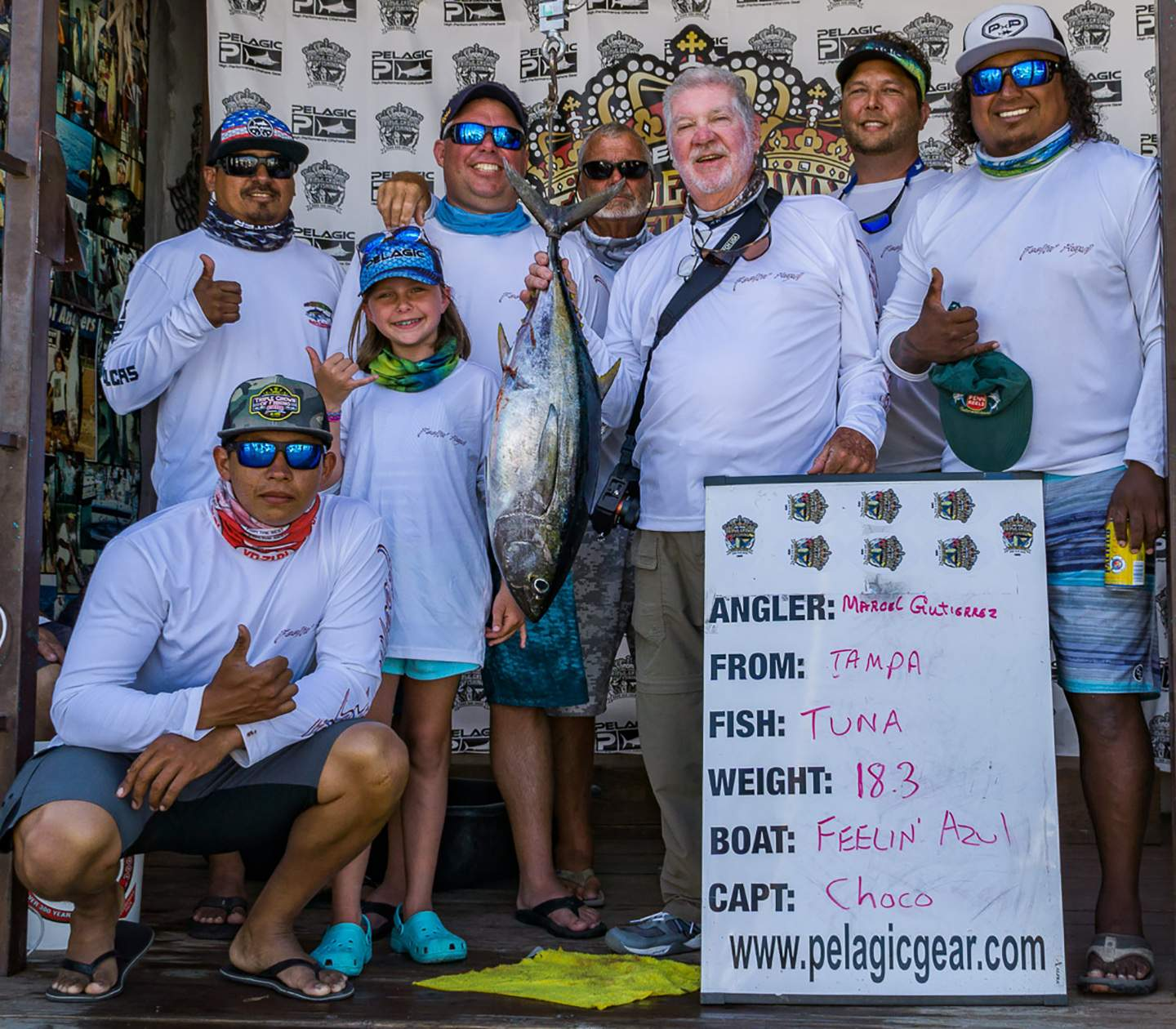 2019 Pelagic Triple Crown Cabo Feelin Azul Tuna Day 2