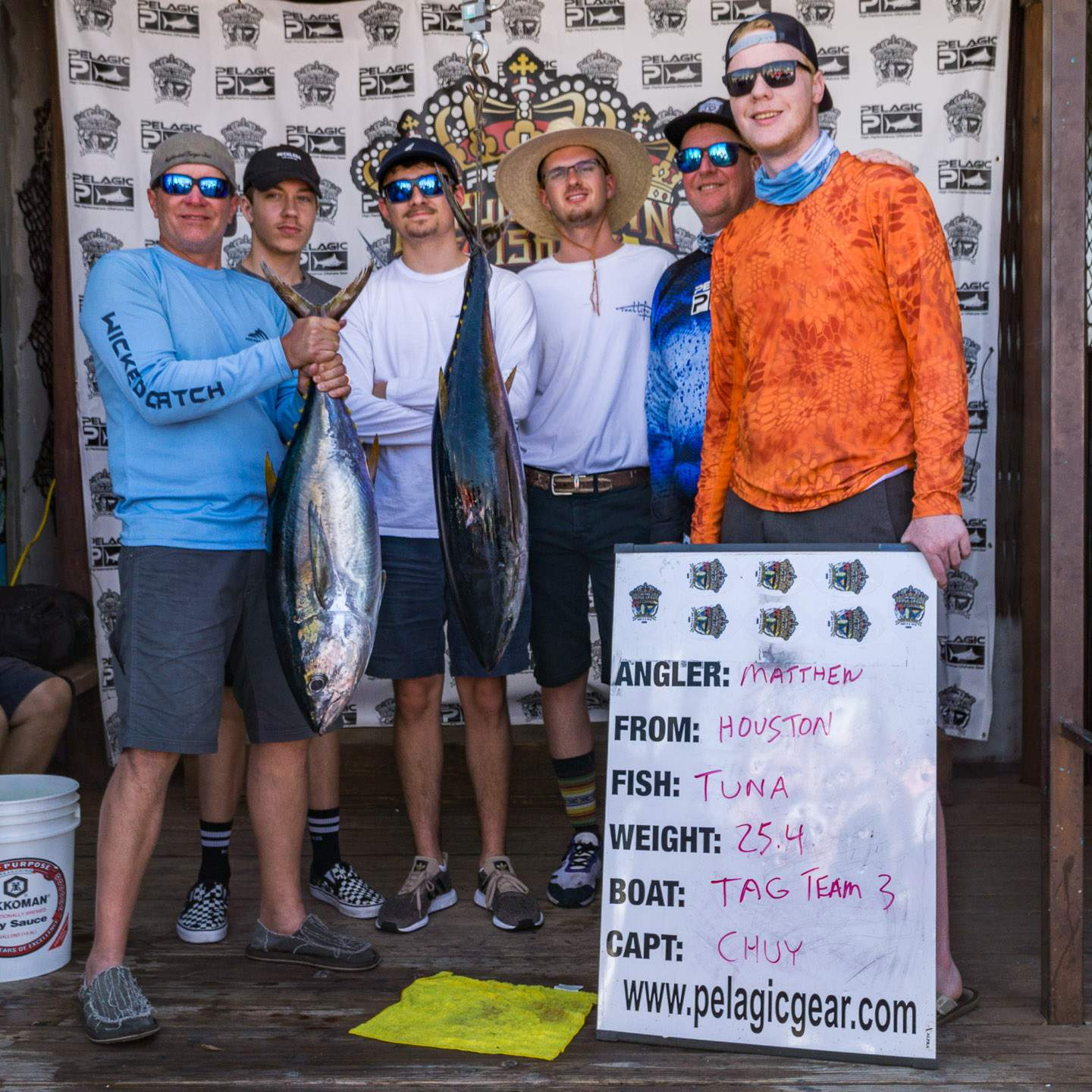 2019 Pelagic Triple Crown Cabo Tag Team III Tuna