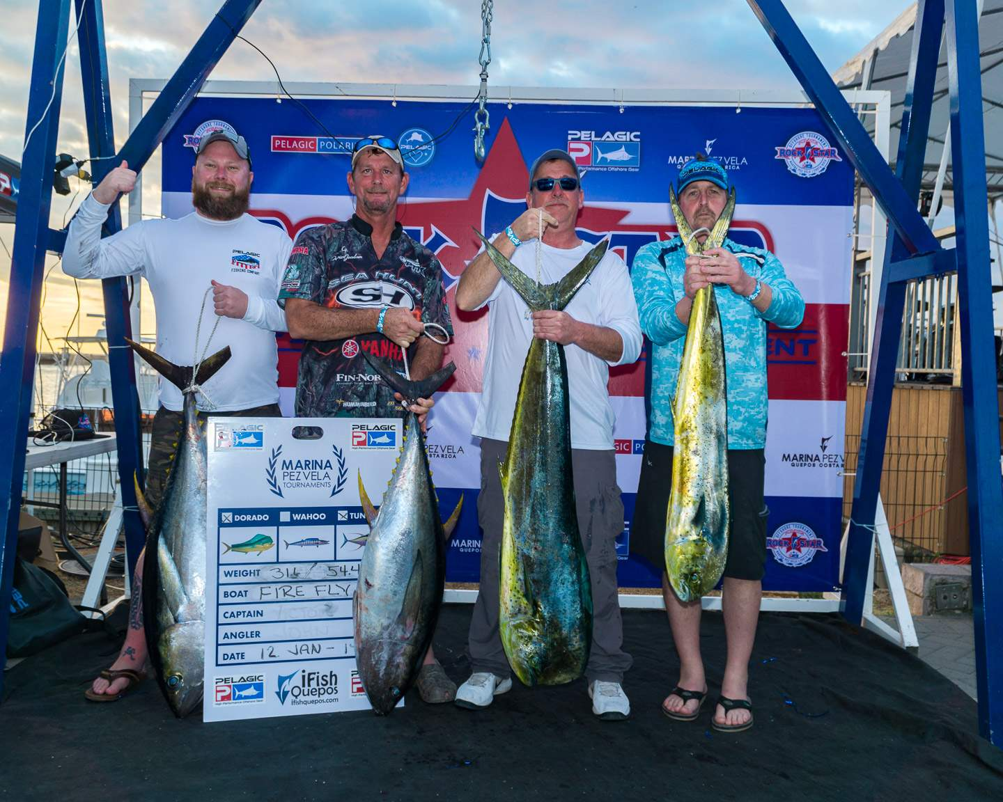 2019 Pelagic Rockstar Offshore Tournament Firefly Weigh in