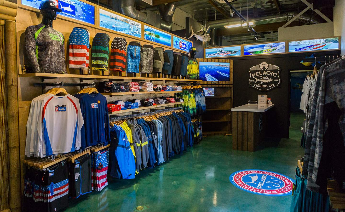 Pelagic California Retail Flagship Store 3