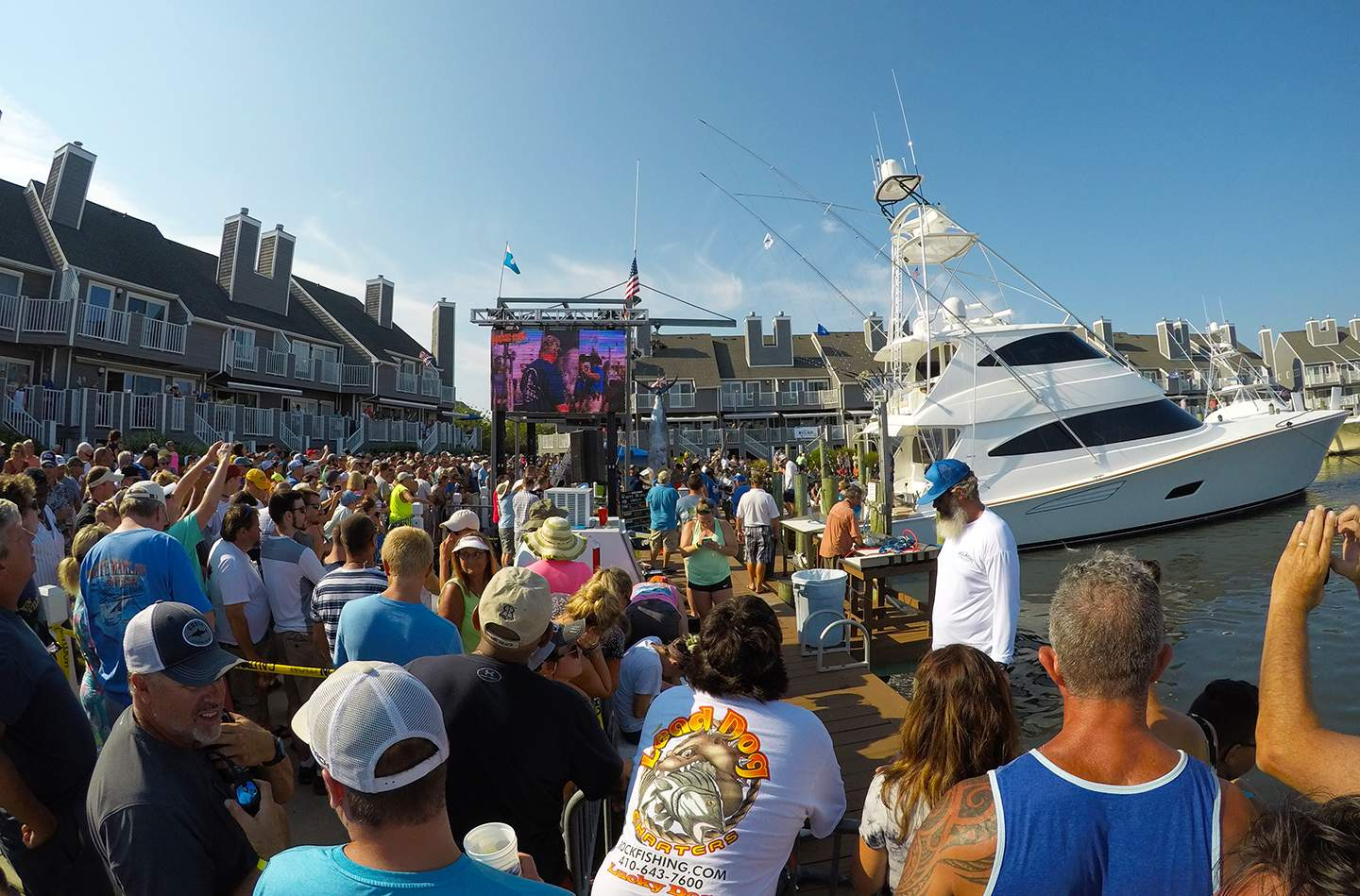 Pelagic White Marlin Open 2018 Crowds