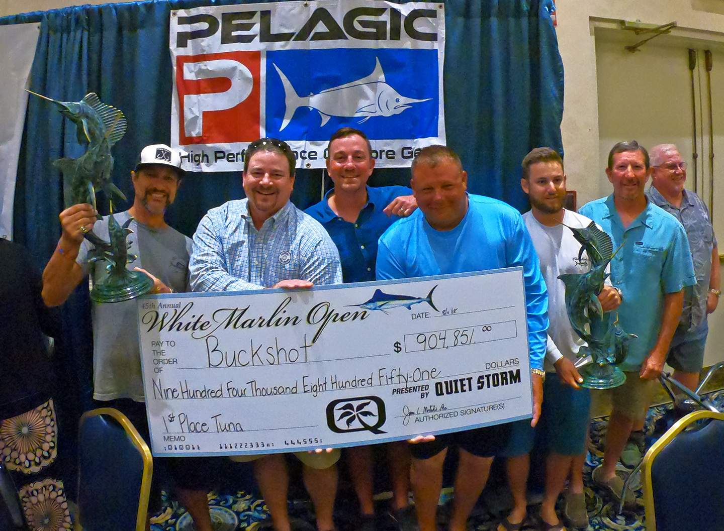 Pelagic White Marlin Open 2018 Buckshot check