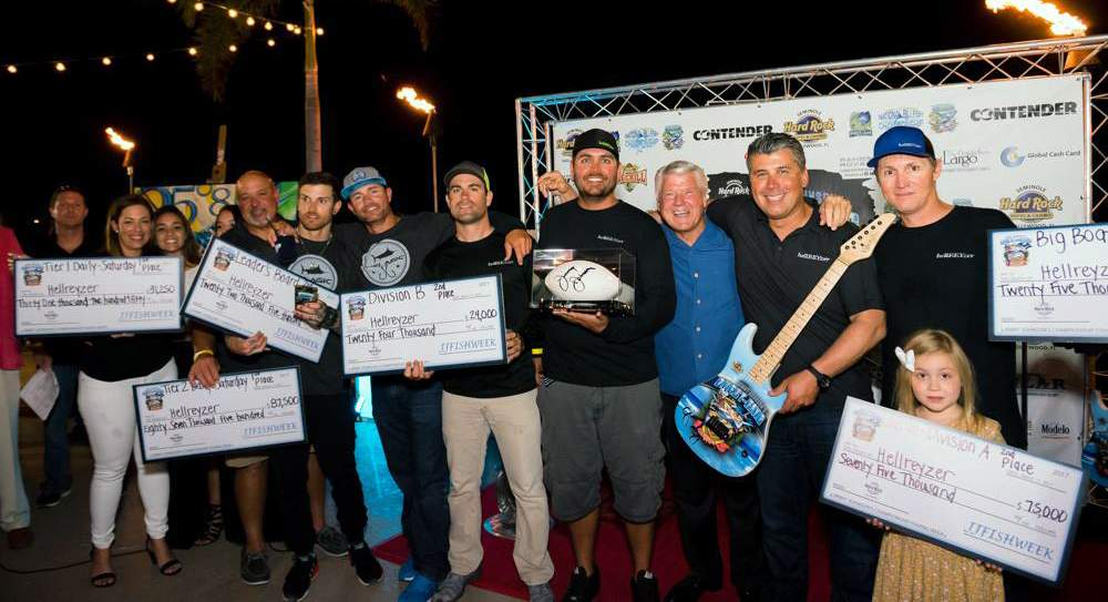 HellREYzer 2nd place Jimmy Johnson Billfish Tournament
