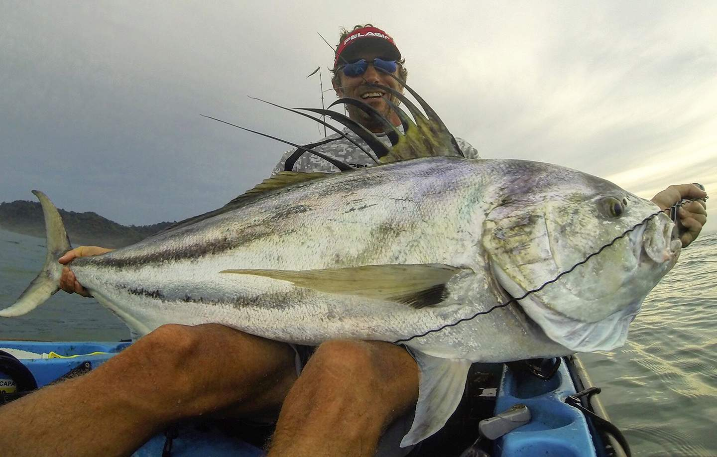 Pelagic Costa Rica Roosterfish Inshore Fishing 1