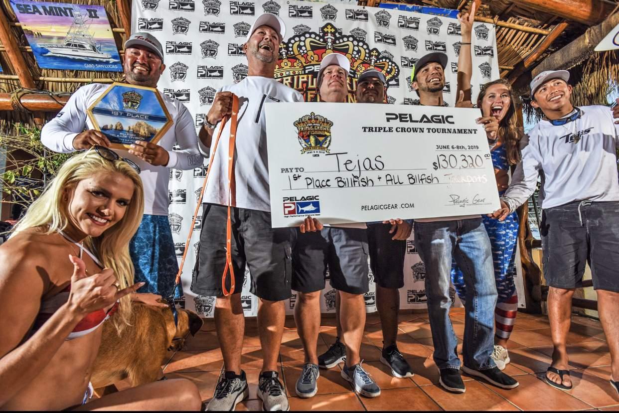 2019 Pelagic Triple Crown Cabo Tejas Winning Check