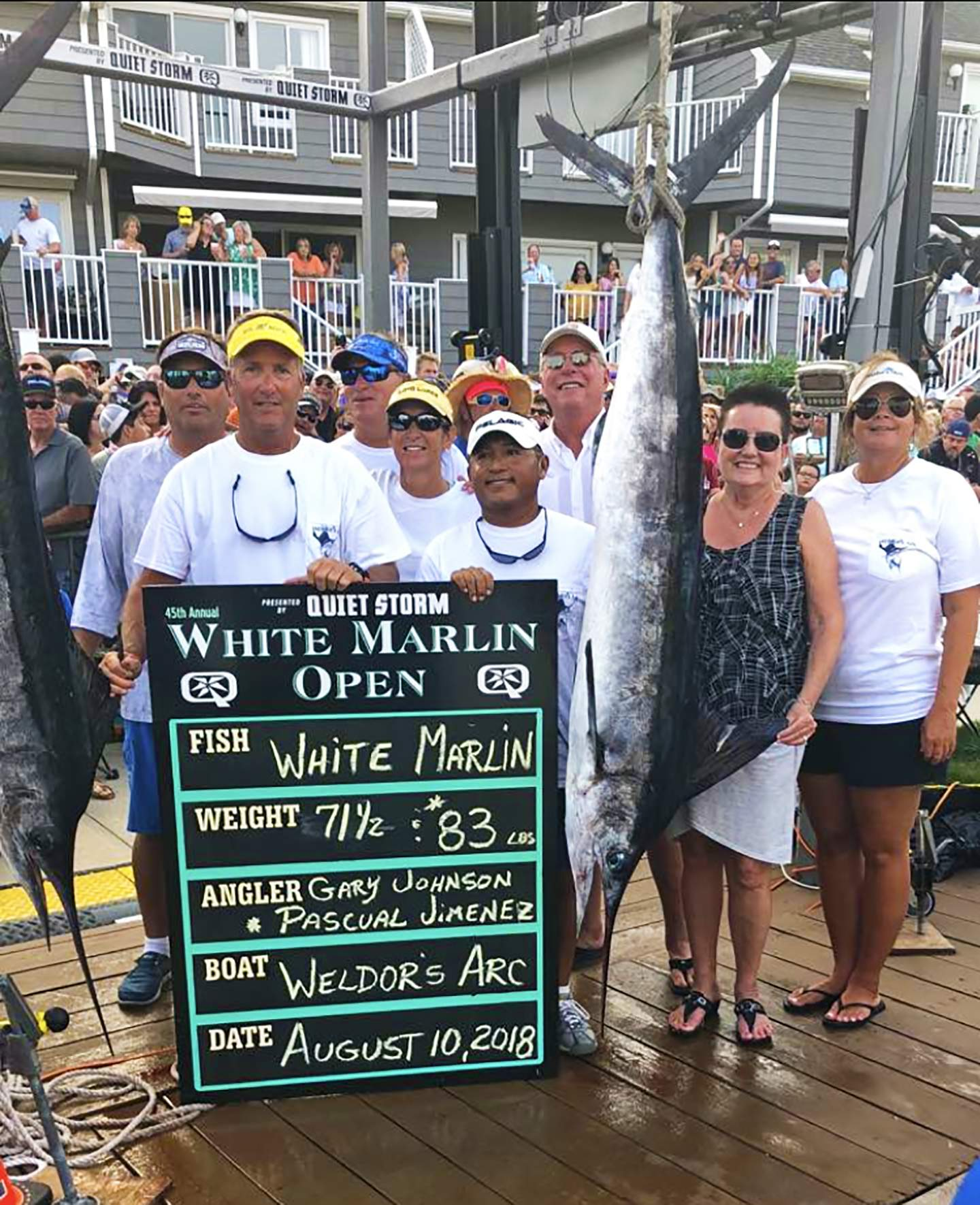 Pelagic White Marlin Open 2018 Welder's Arc Scales