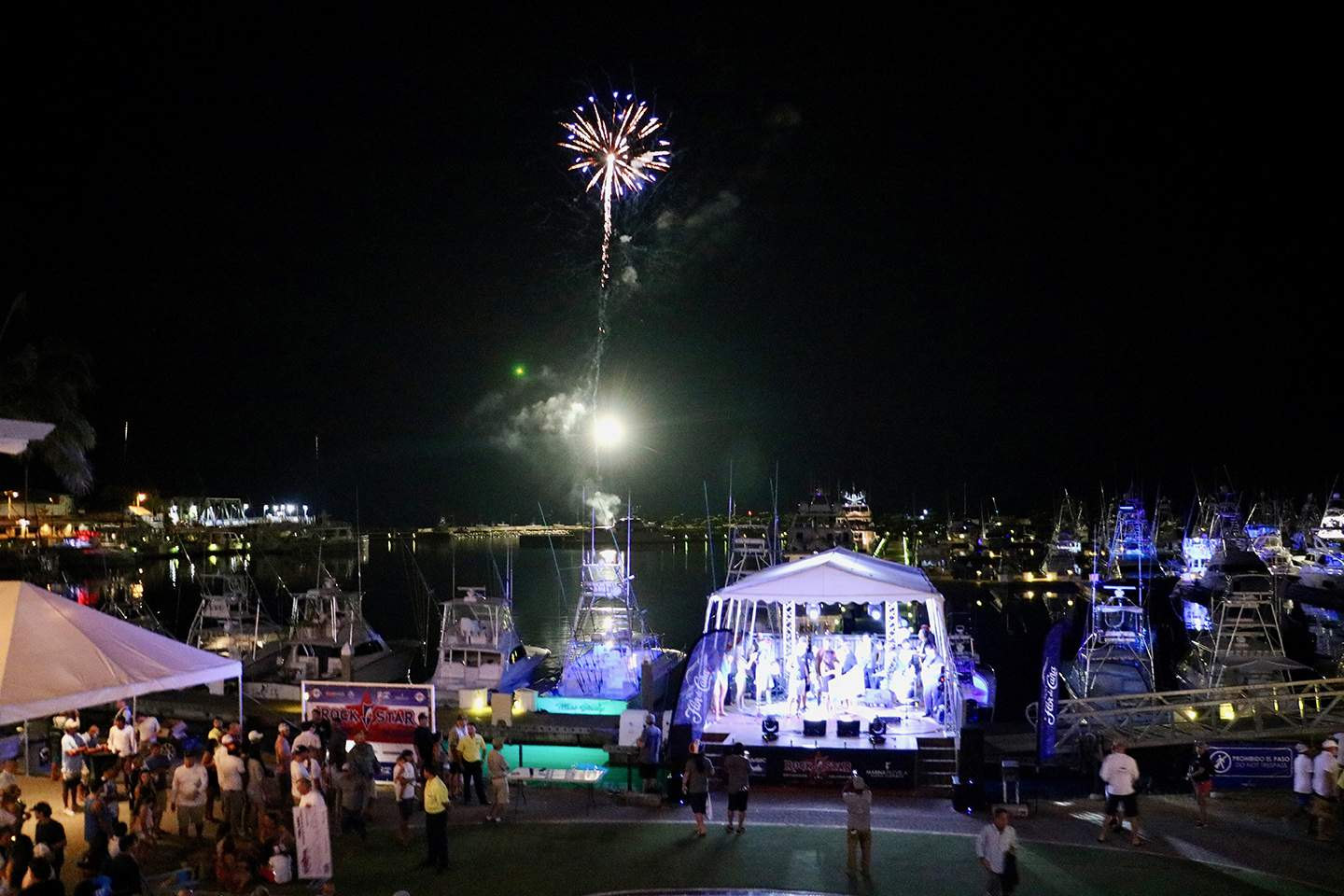 2019 Pelagic Rockstar Offshore Tournament Fireworks