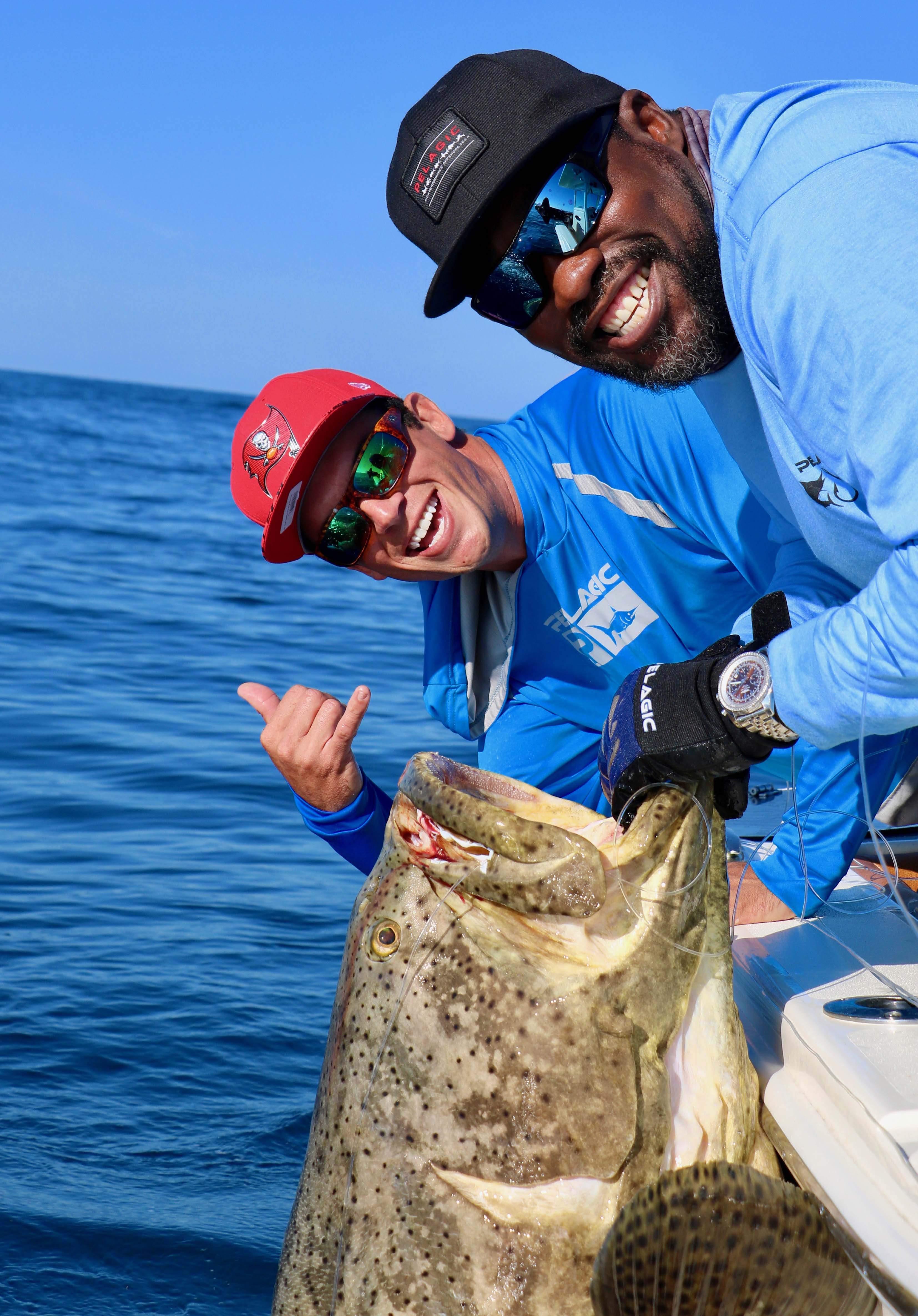 Pelagic Goliath Grouper Fishing 6