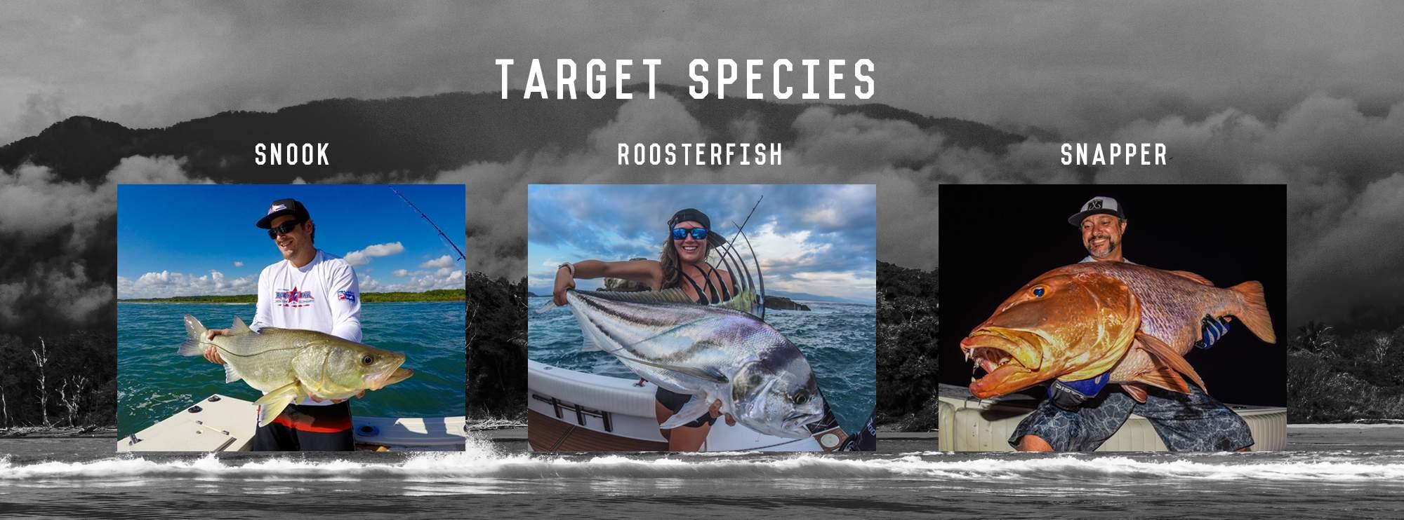 PELAGIC Pura Vida Inshore Classic_Snook_Roosterfish_Snapper_Costa Rica