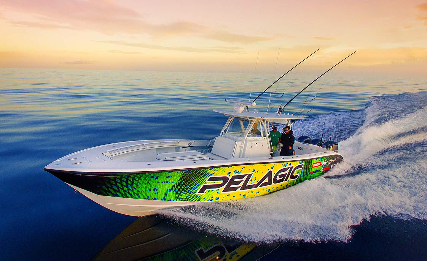Pelagic Meet The Fleet Fishing Wrap Boats 12