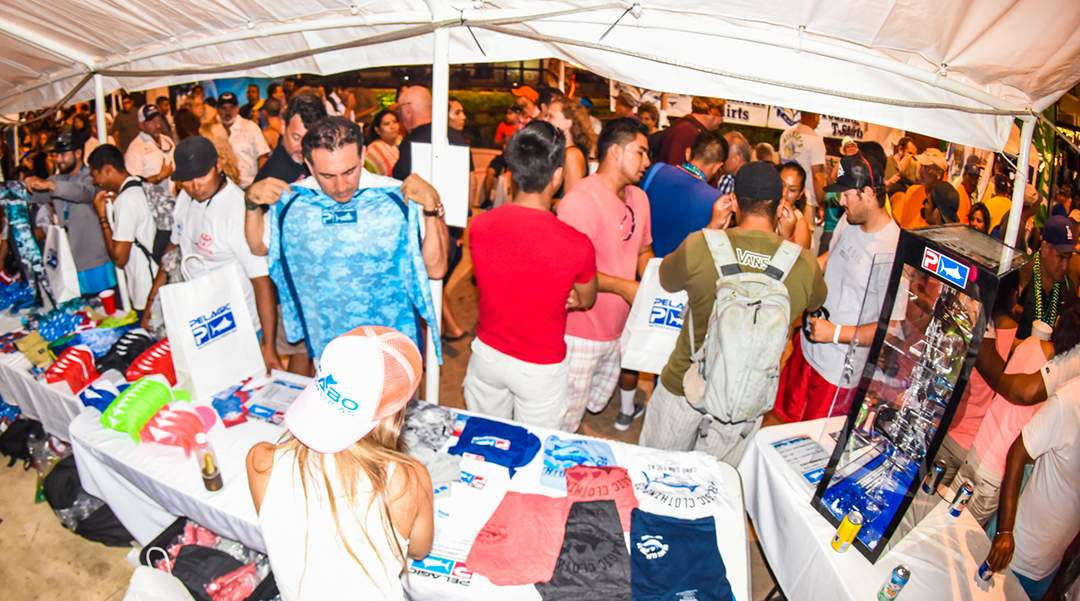 PELAGIC Sales Tent_Bisbees_Cabo 2017
