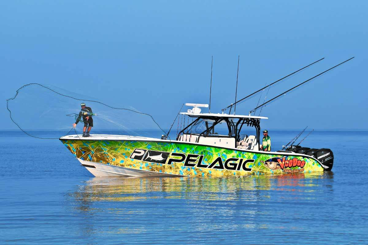 Pelagic Fleet Voodoo 42 Yellowfin Hex Dorado