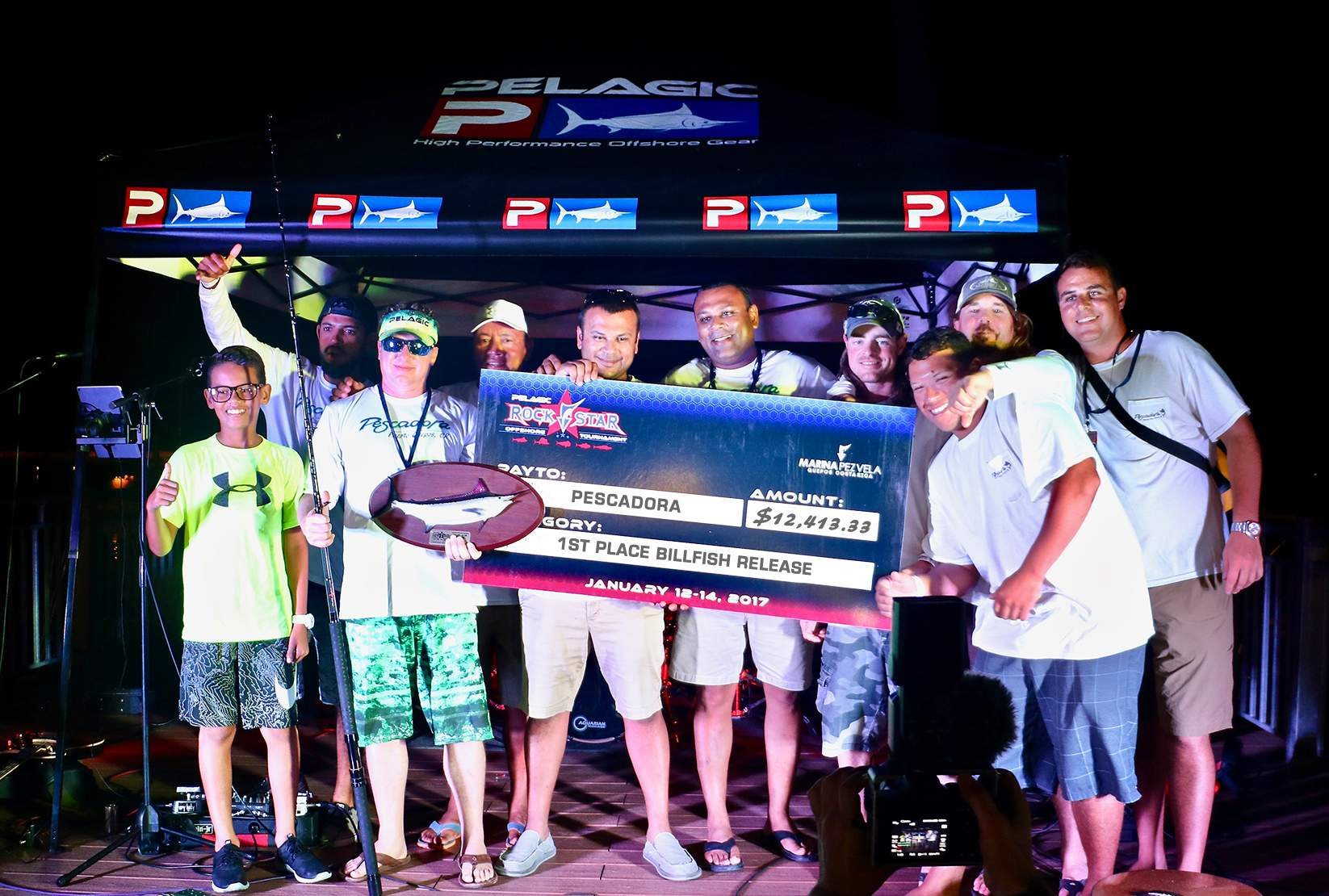 Team Pescadora_PELAGIC ROCKSTAR TOURNAMENT_Costa Rica