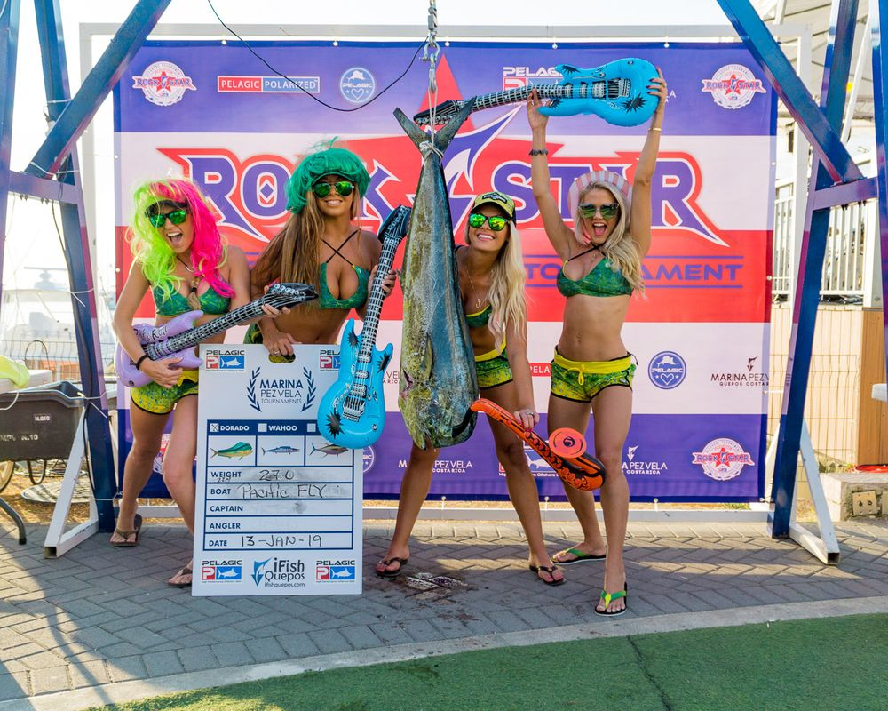 2019 Pelagic Rockstar Offshore Tournament Weigh In Day 2 -10