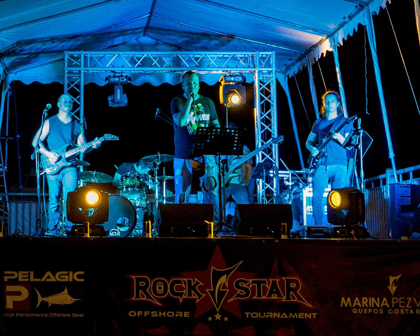 PELAGIC Rockstar Tournament_Kin Rivera Band