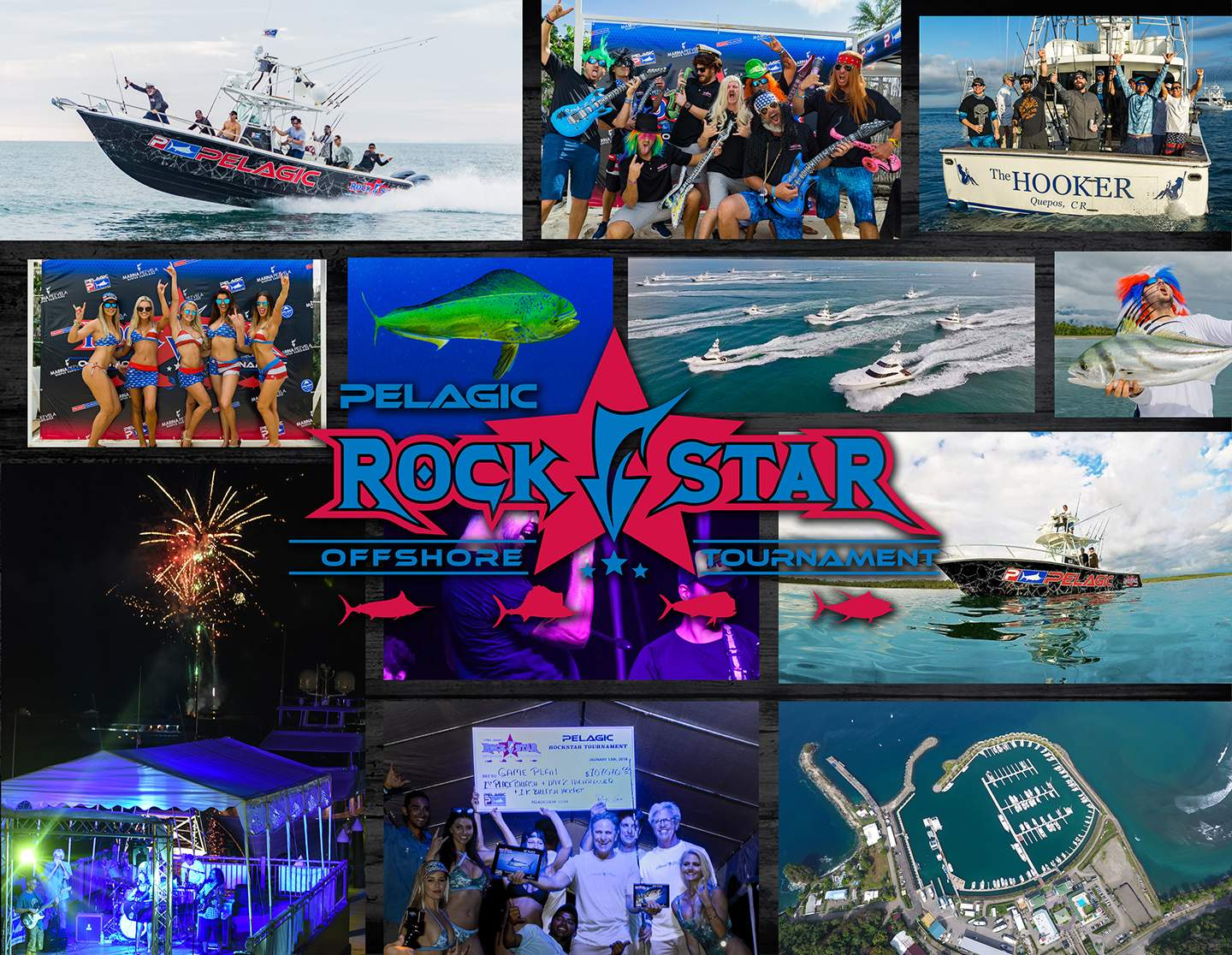 Pelagic Rockstar Offshore Fishing Tournament Costa Rica cover