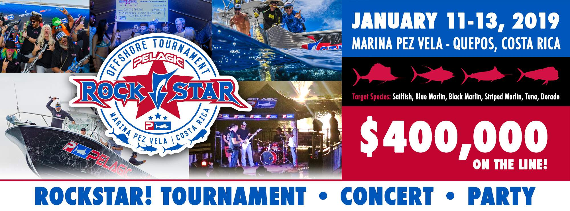 Costa Rica Rockstar Offshore Tournament