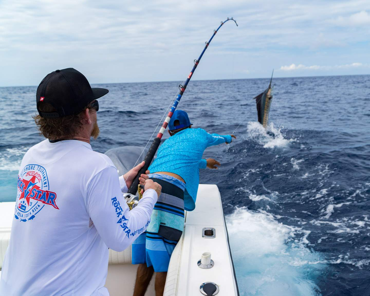 2019 Pelagic Rockstar Offshore Tourament Sailfish Release