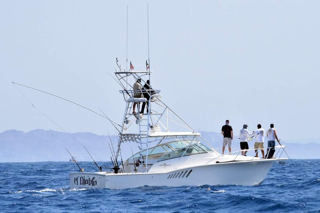 Striped Marlin Fishing_Cabo San Lucas_EL DIABLO_2016 Pelagic Cabo Summer Slam