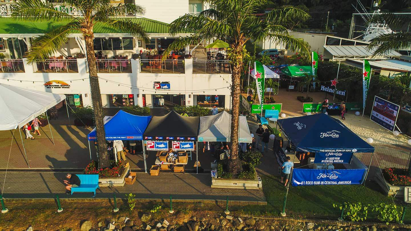 2019 Pelagic Rockstar Offshore Tournament Tourney village drone