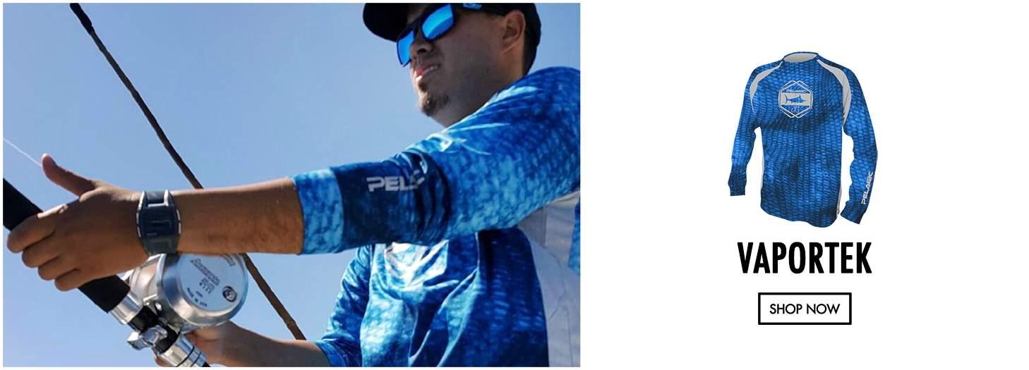 Vaportek L/S Perfomance Fishing Shirt