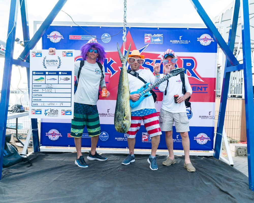2019 Pelagic Rockstar Offshore Tournament Weigh In Day 1 2