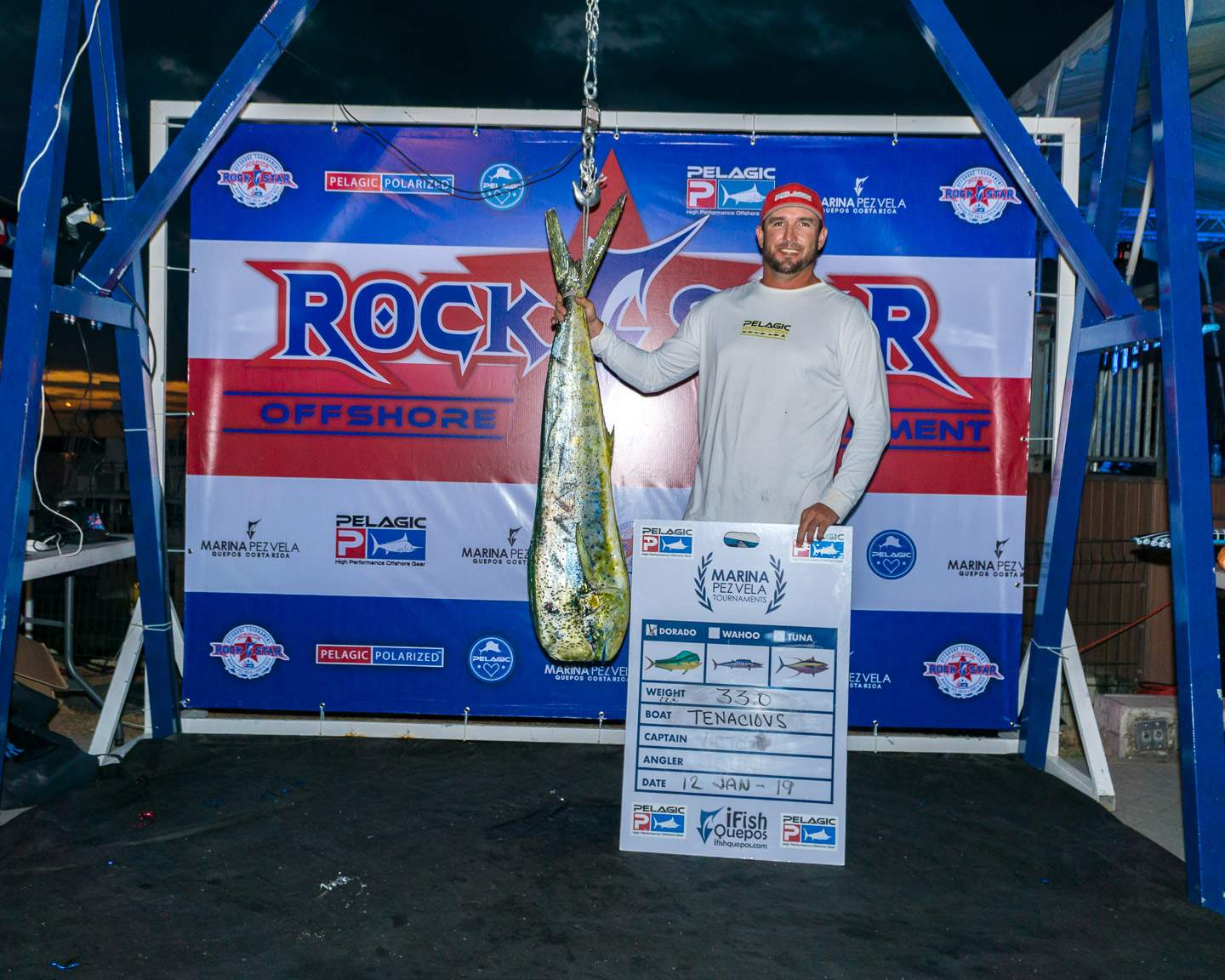 2019 Pelagic Rockstar Offshore Tournament Tenacious Weigh In