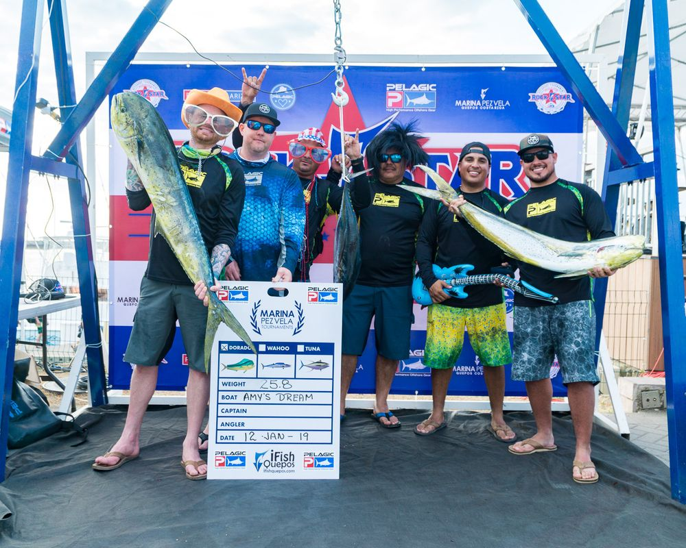 2019 Pelagic Rockstar Offshore Tournament Weigh In Day 1