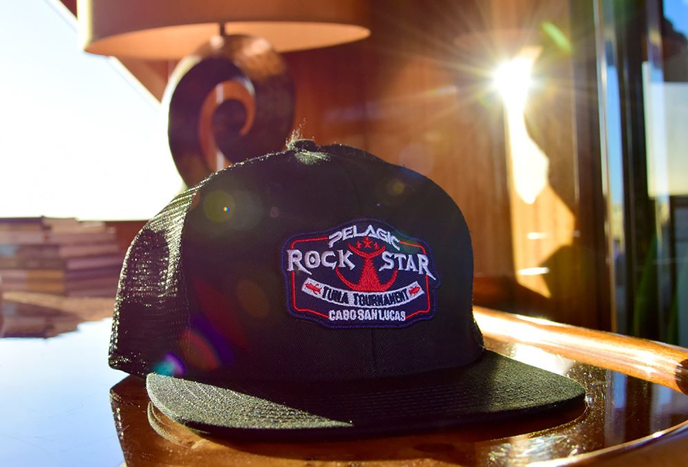 Hat Pelagic Rockstar Tuna Tournament